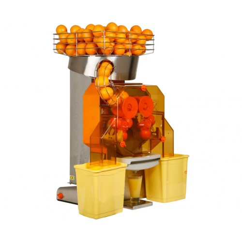 Auto Feed Orange Juice Machine - 38 Oranges / Minute with Glass Tray